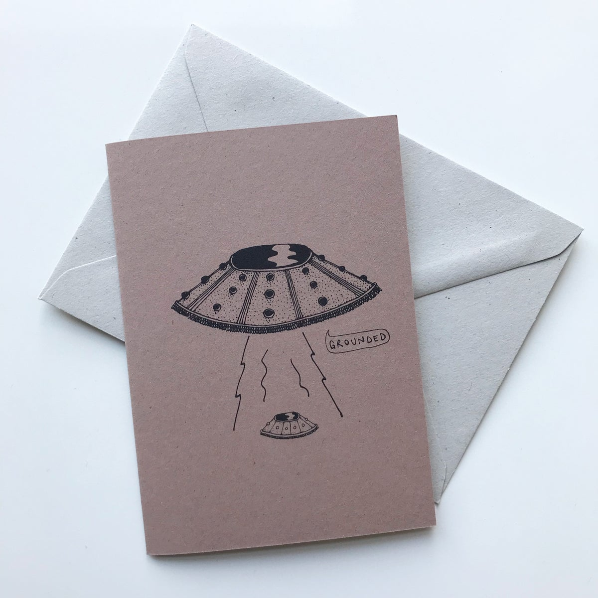 Image of MOTHERSHIP MUM CARD BY fingsMCR