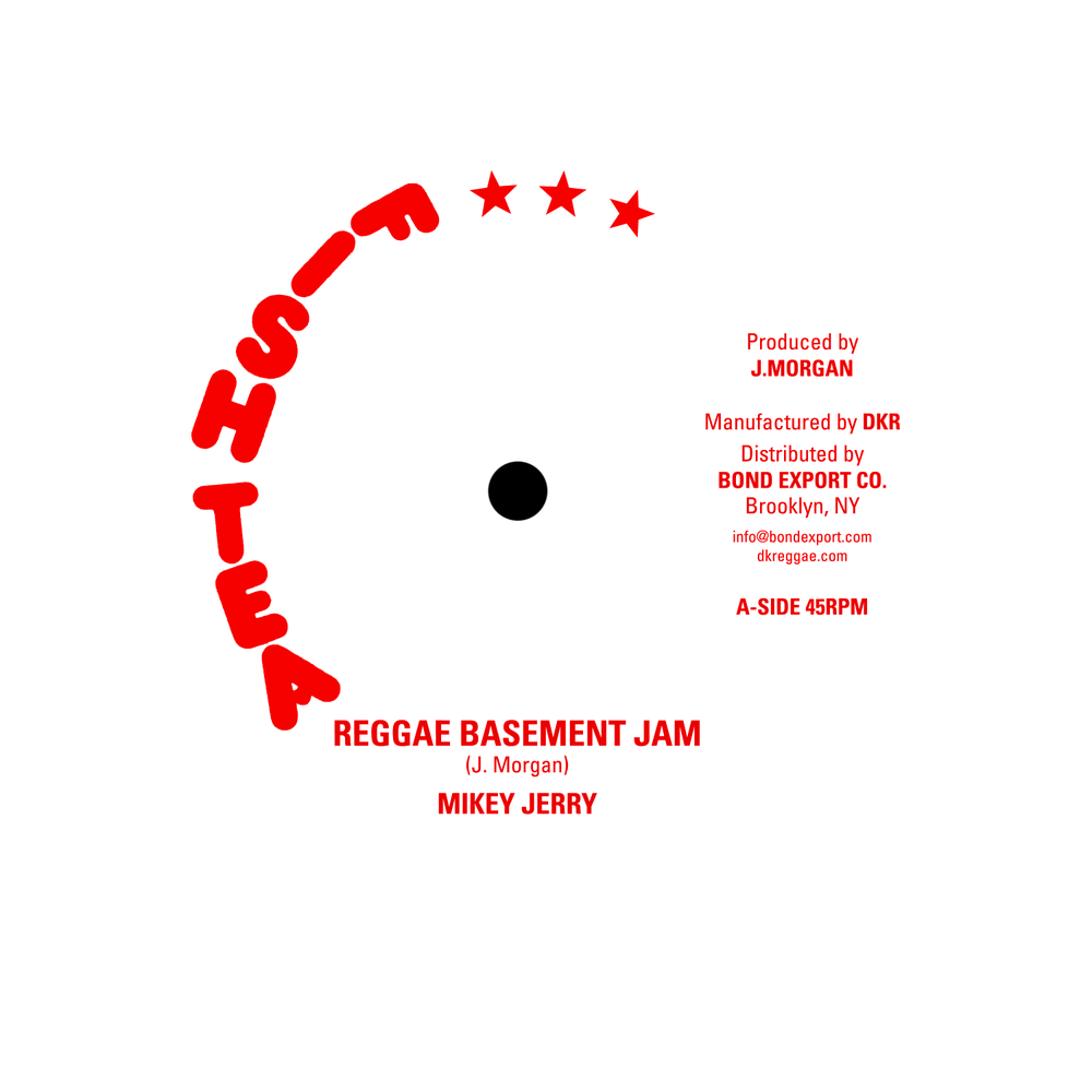 "Image of Mikey Jerry - Reggae Basement Jam 10"" (Fish Tea)"