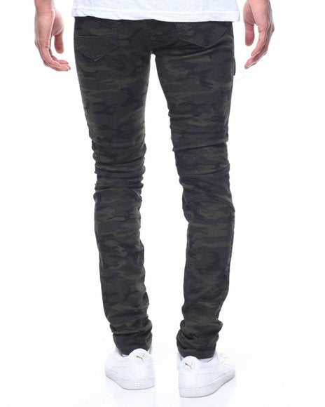 Image of MOTO TWILL JEANS