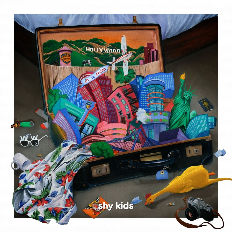 Image of shy kids - in a state (cd)