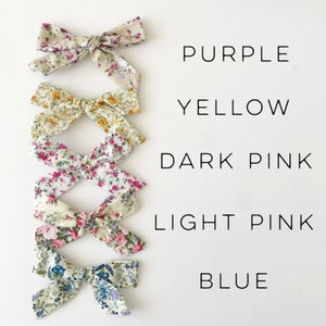 "Image of 5.5"" Floral Bows"