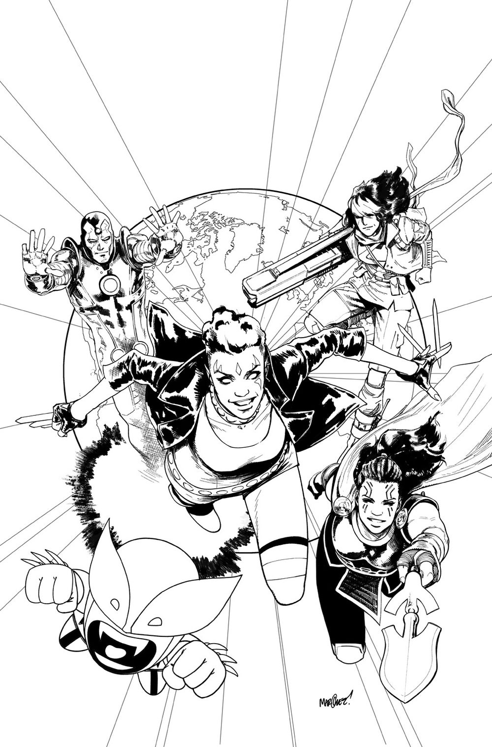 Image of EXILES #1 COVER ARTIST'S PROOF
