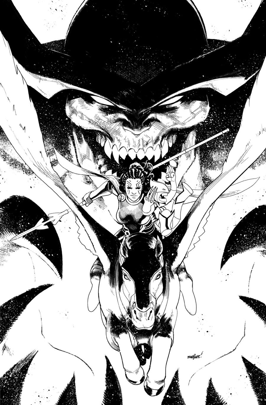 Image of EXILES #2 COVER ARTIST'S PROOF