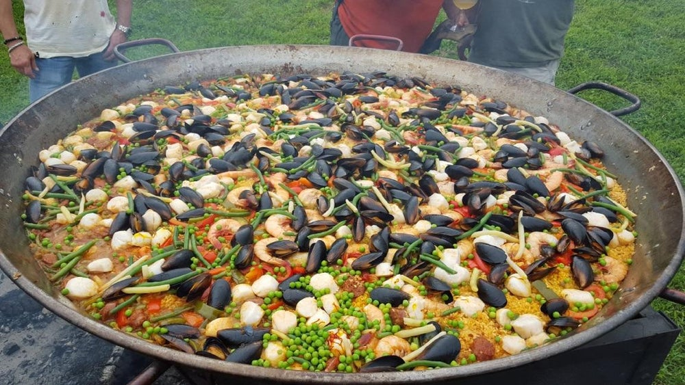 Image of Paella Class with Jeff of Bovinoche