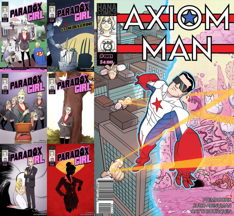 Image of All Six Issues + Axiom Man #1 Bundle