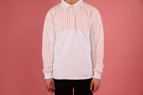 Image of Peach Rugby Shirt