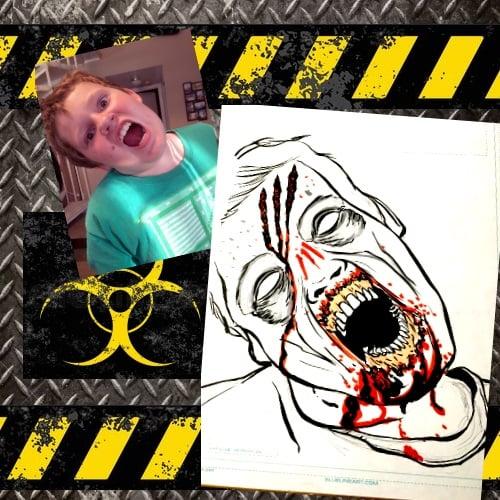Image of Custom Zombie Portrait