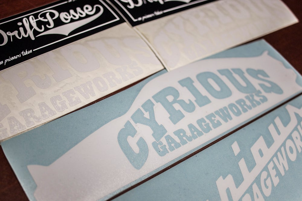 Image of CYRIOUS GARAGEWORKS STICKER PACK