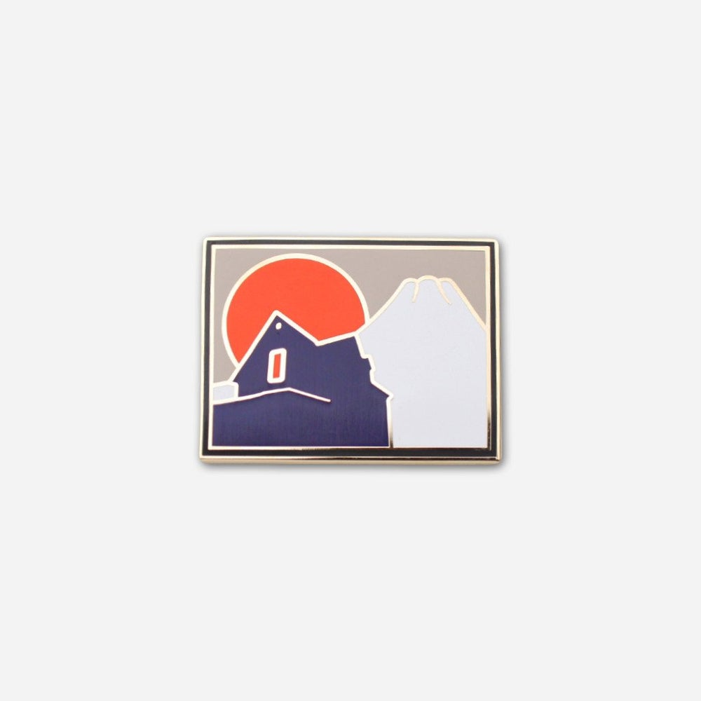 Image of Fuji House (Lost Lust Supply) Enamel Pin