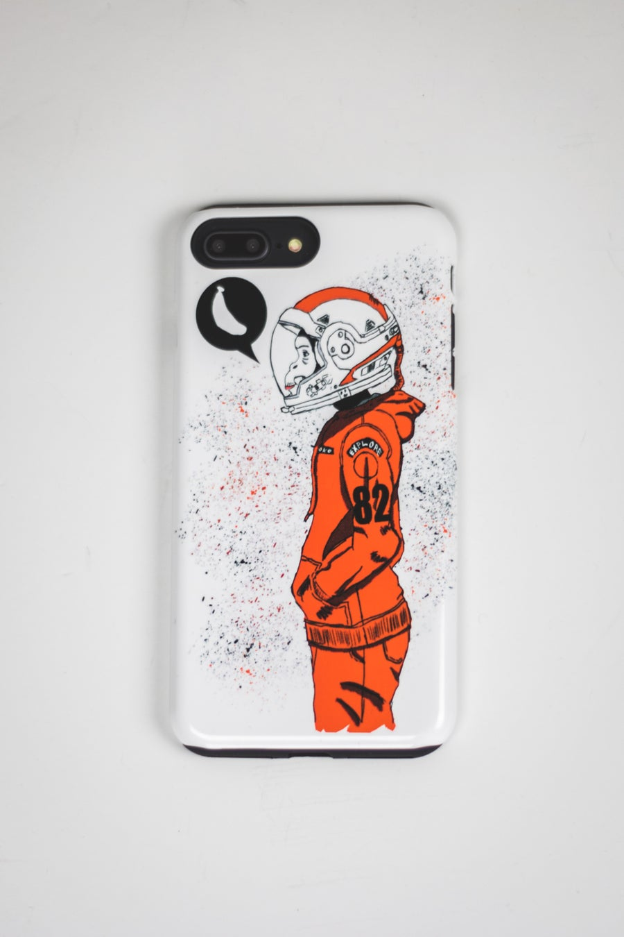 Image of Urban Space Monkey Phone Case