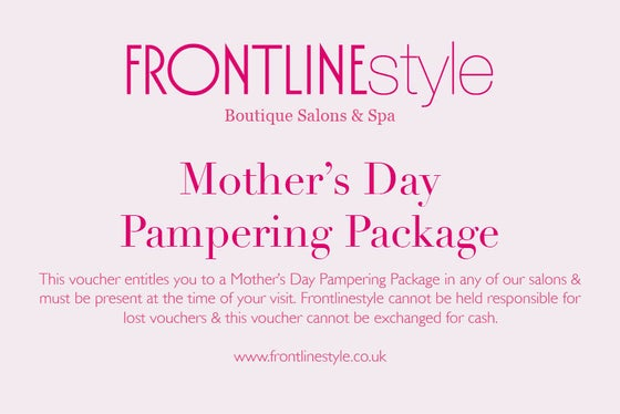 Image of Mother's Day Pampering Package