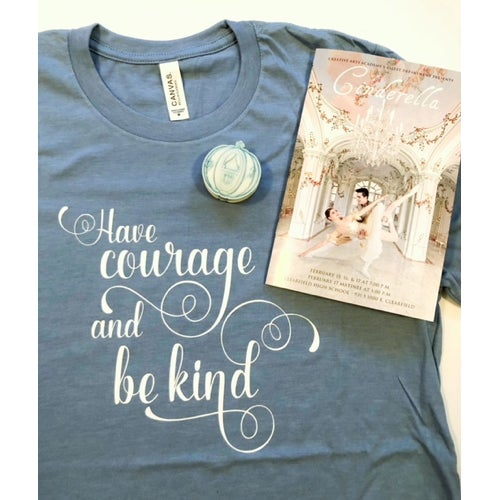 Image of COURAGE + KINDNESS TEE PREORDER