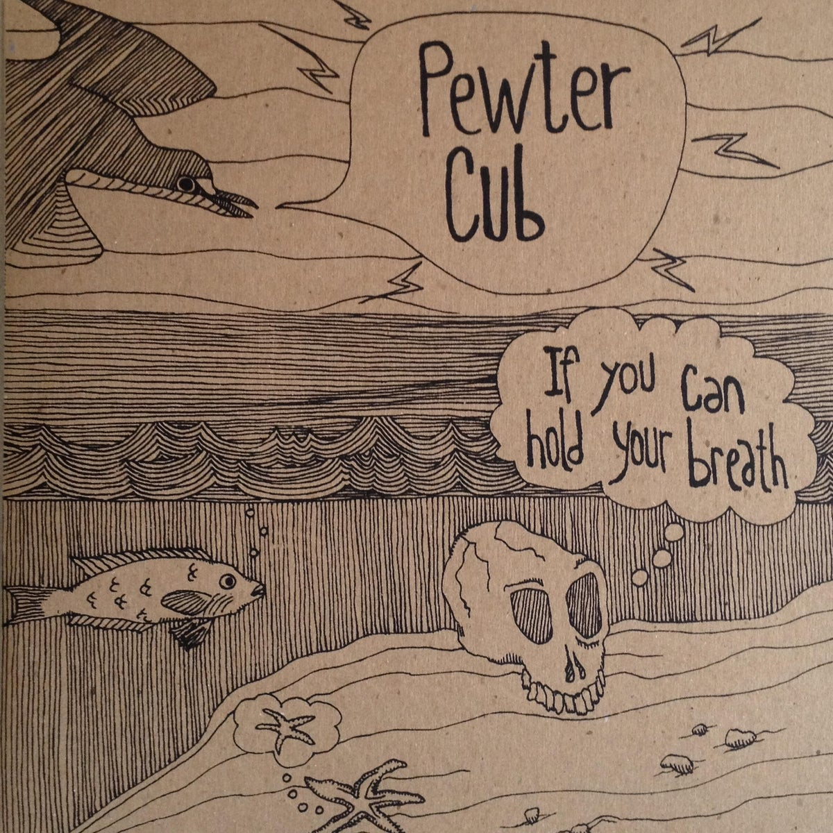 Image of Pewter Cub - If You Can Hold Your Breath - LP + Download Code