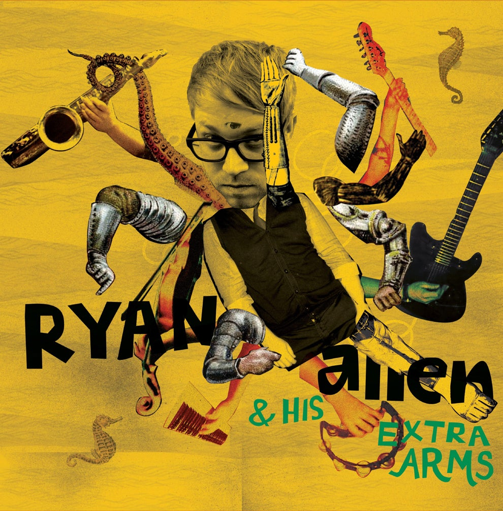 Image of Ryan Allen & His Extra Arms - ST - LP + CD Copy