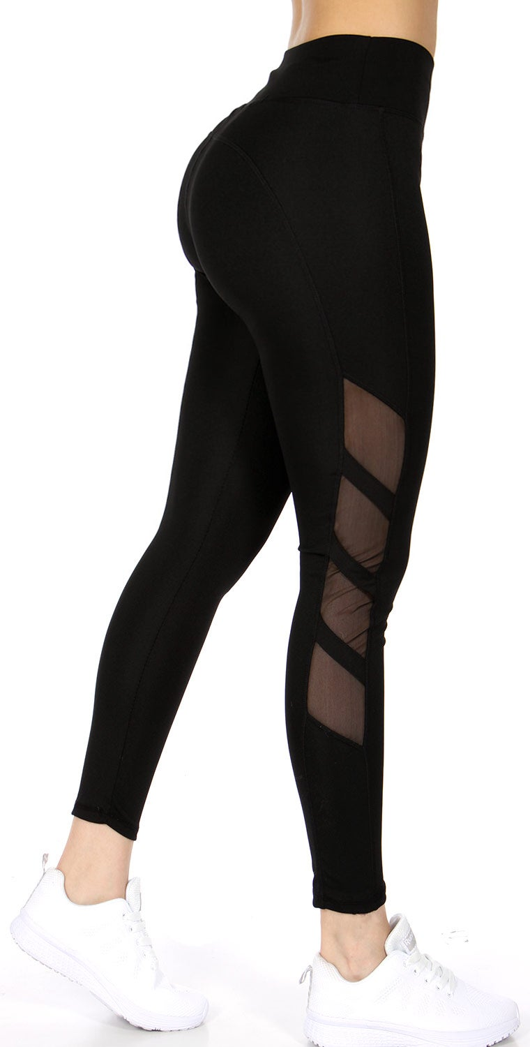 Image of ACTIVE MESH QUAD LEGGINGS