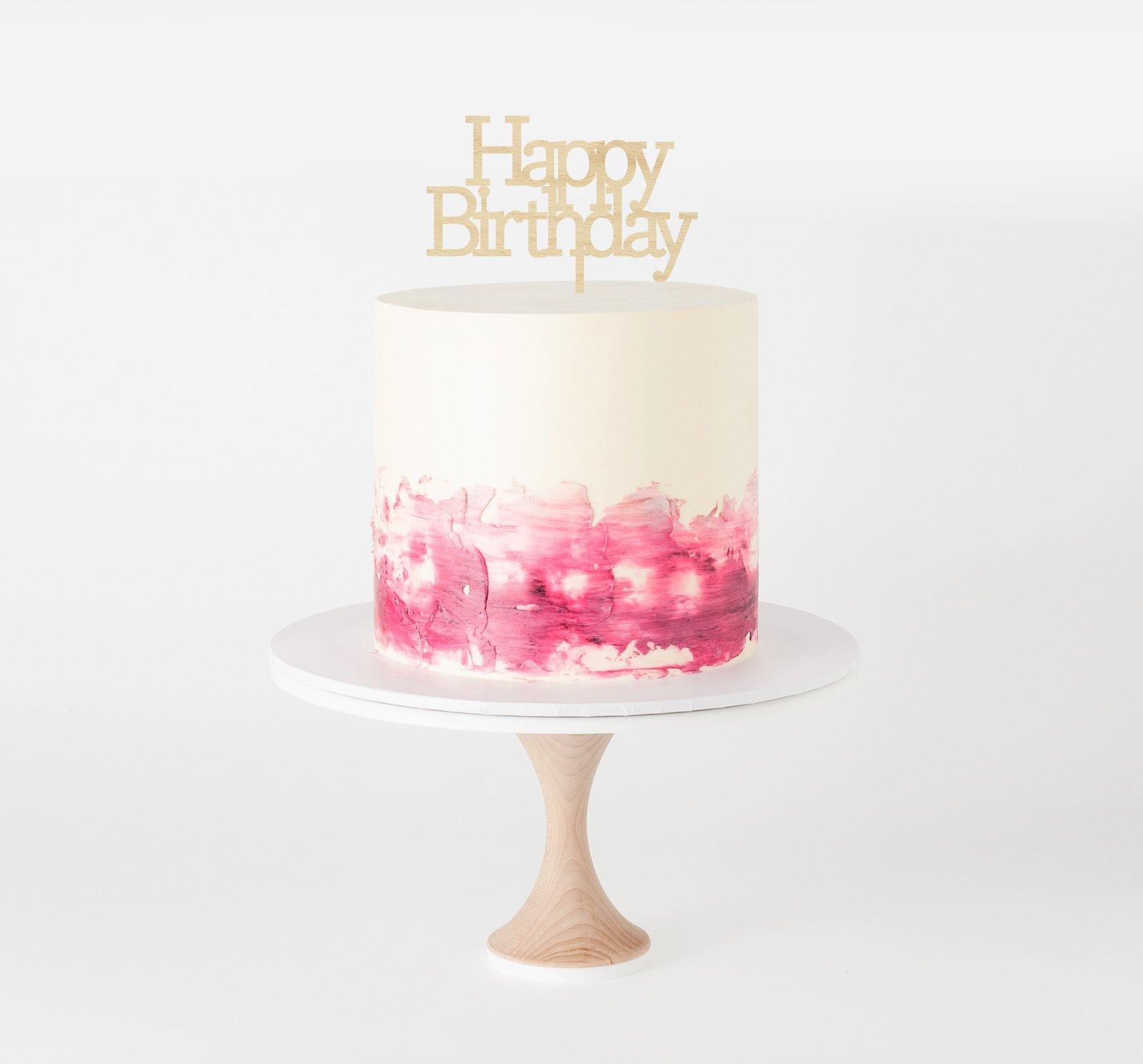 Glistening Occasions Classic Birthday Block