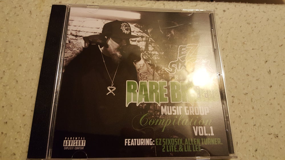 Image of Rarebreed Compilation Vol 1 CD