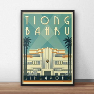 Image of Tiong Bahru Art Deco Poster