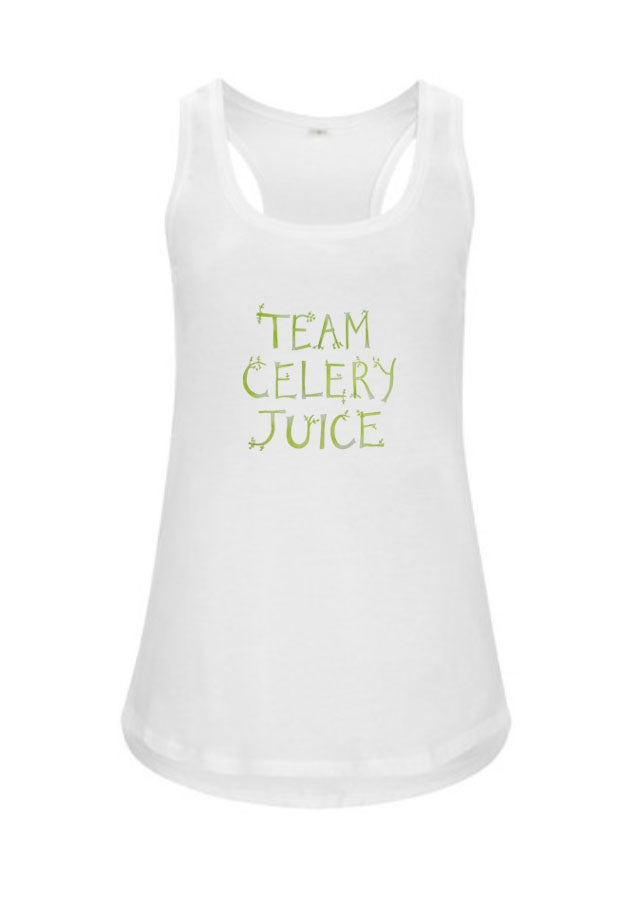 Image of 50% off sale! Team Celery Juice WOMEN'S Tank Top