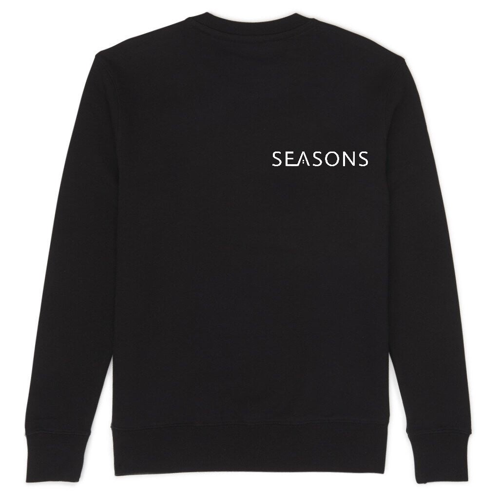 Image of Black SEASONS Jumper
