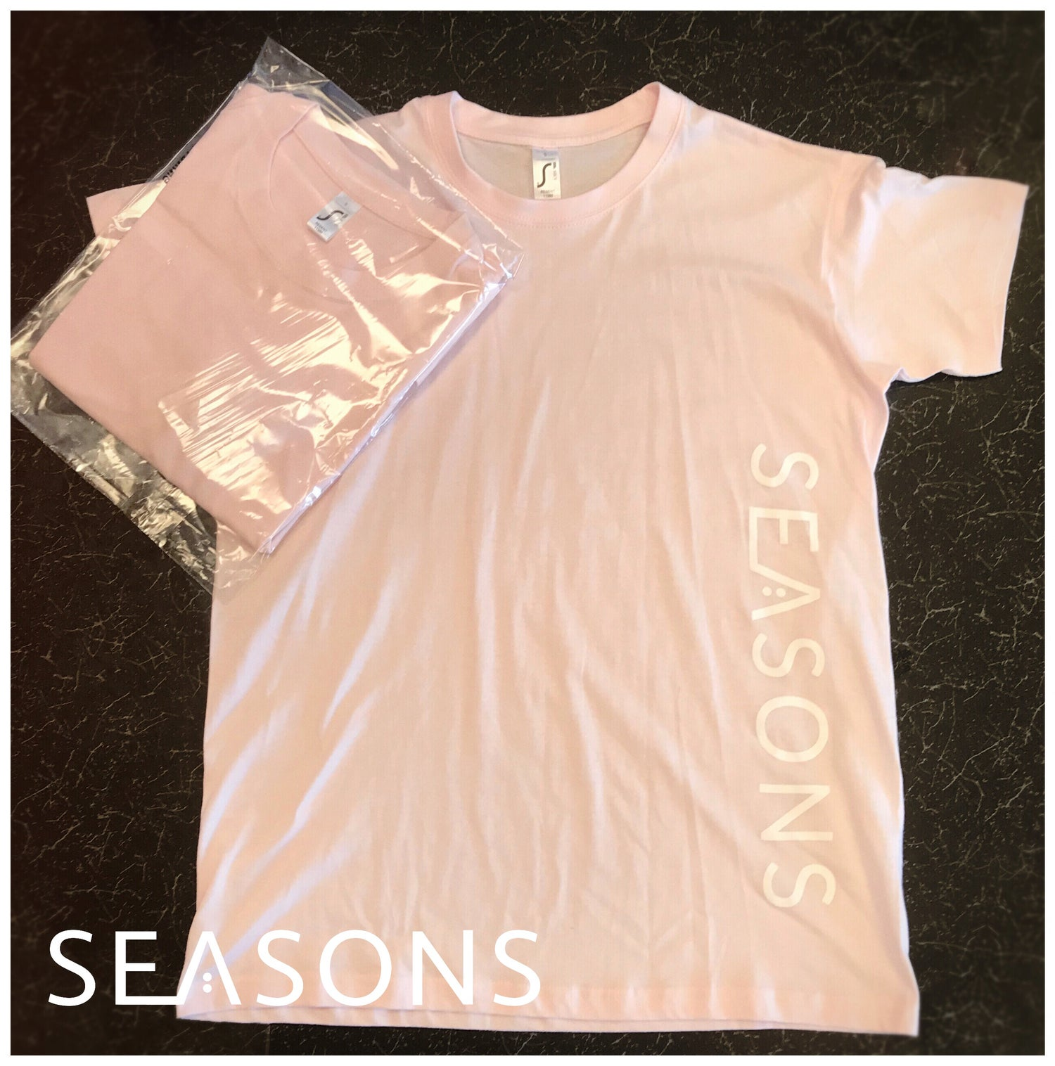 Image of Pink SEASONS T-Shirt