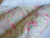 "Image of Pretty paisley eiderdown in Sarah Hardaker ""Apple"" fabric"