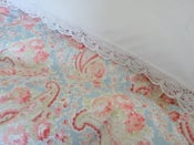 "Image of Gorgeous paisley in Sarah Hardaker ""Duck egg"" fabric"