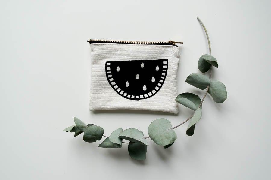 Image of MELON I Kleine Tasche aus Bio Baumwolle