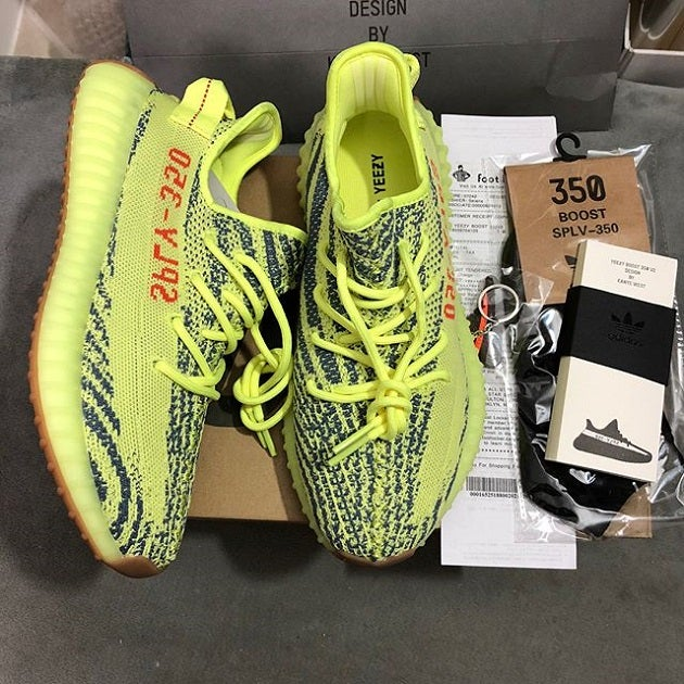 new style a7865 bfb70 Adidas Yeezy Boost 350 V2 Semi Frozen Yellow