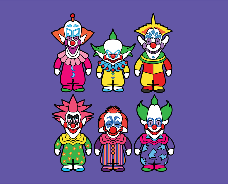Image of Killer Klowns Art Print