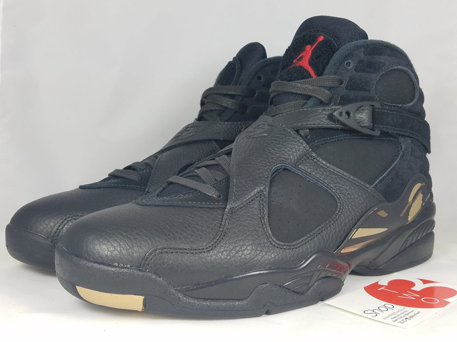 outlet store 71c73 83afa Image of Jordan 8 Retro OVO Black