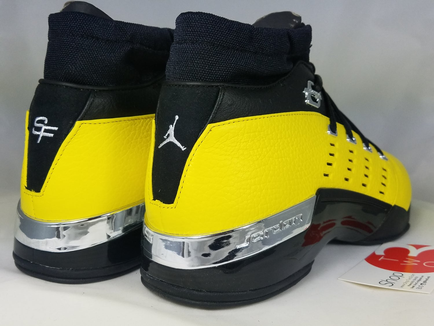 8edf897e0a1 Image of Jordan 17 Retro Low SoleFly Alternate Lightning. 10. Add to Cart. DS  Size 10