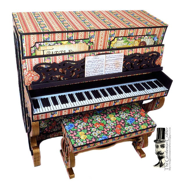 Image of Beth's Piano - Graphic 45's Little Women