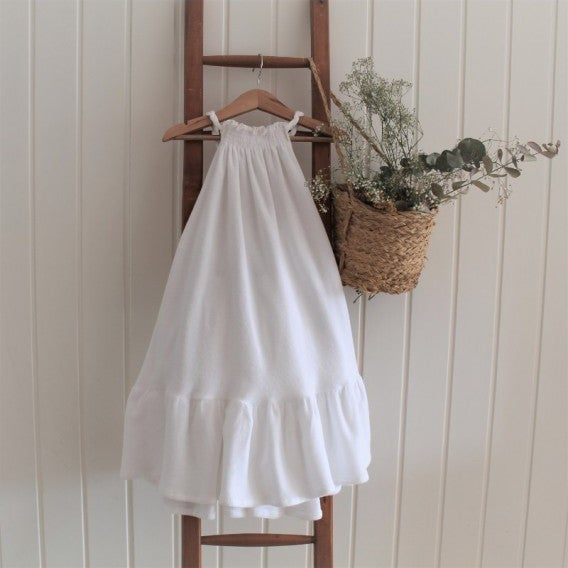 Image of VESTIDO PLAYERO BLANCO ¡OFERTA!