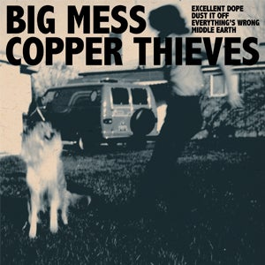 "Image of Big Mess + Copper Thieves - Split EP - 7"" + Download Code"