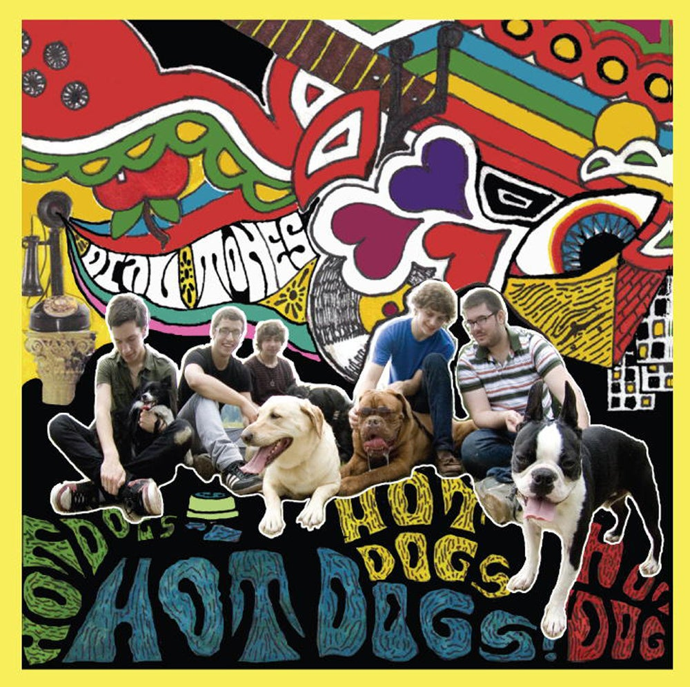 Image of The Dial Tones - Hot Dogs EP - 7""