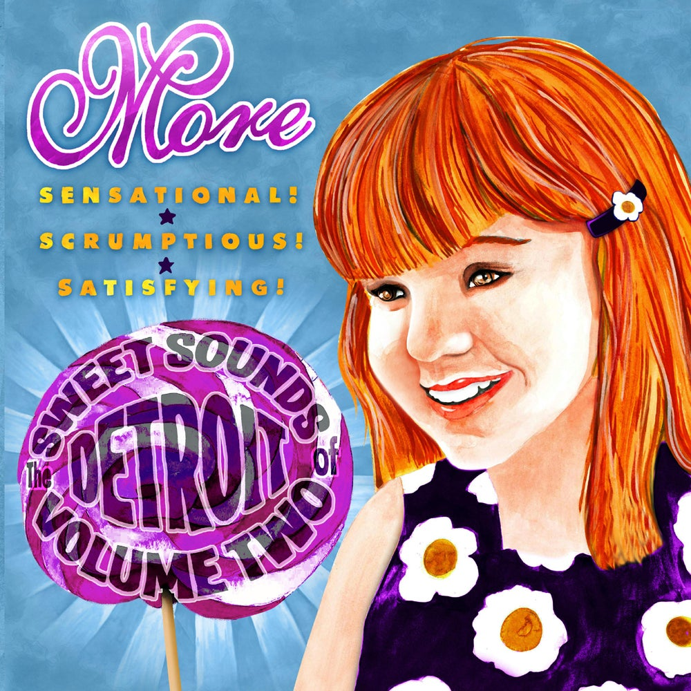 Image of Various Artists - The Sweet Sounds Of Detroit Volume Two - CD