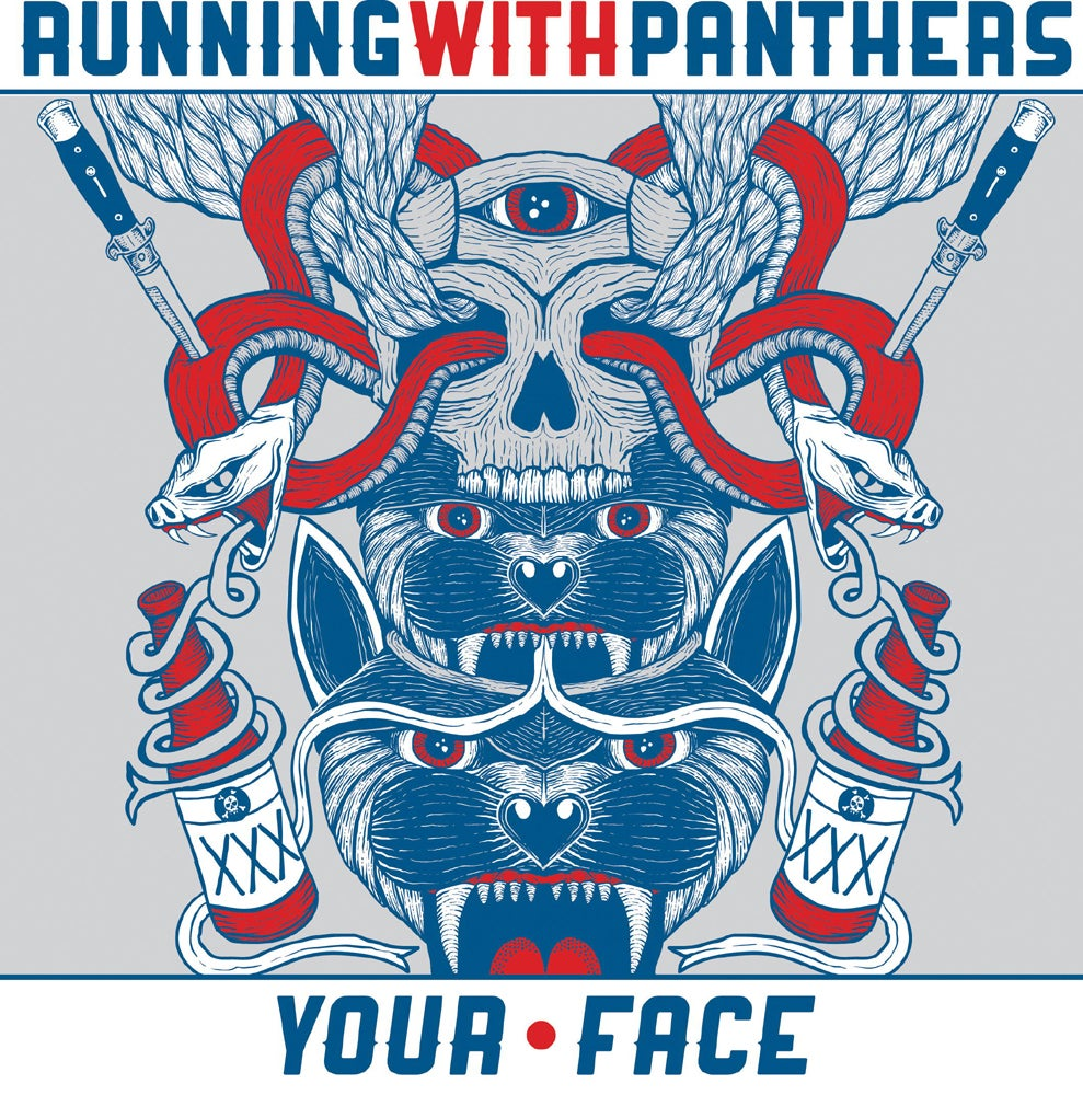 Image of Running With Panthers - Your Face EP - 7""