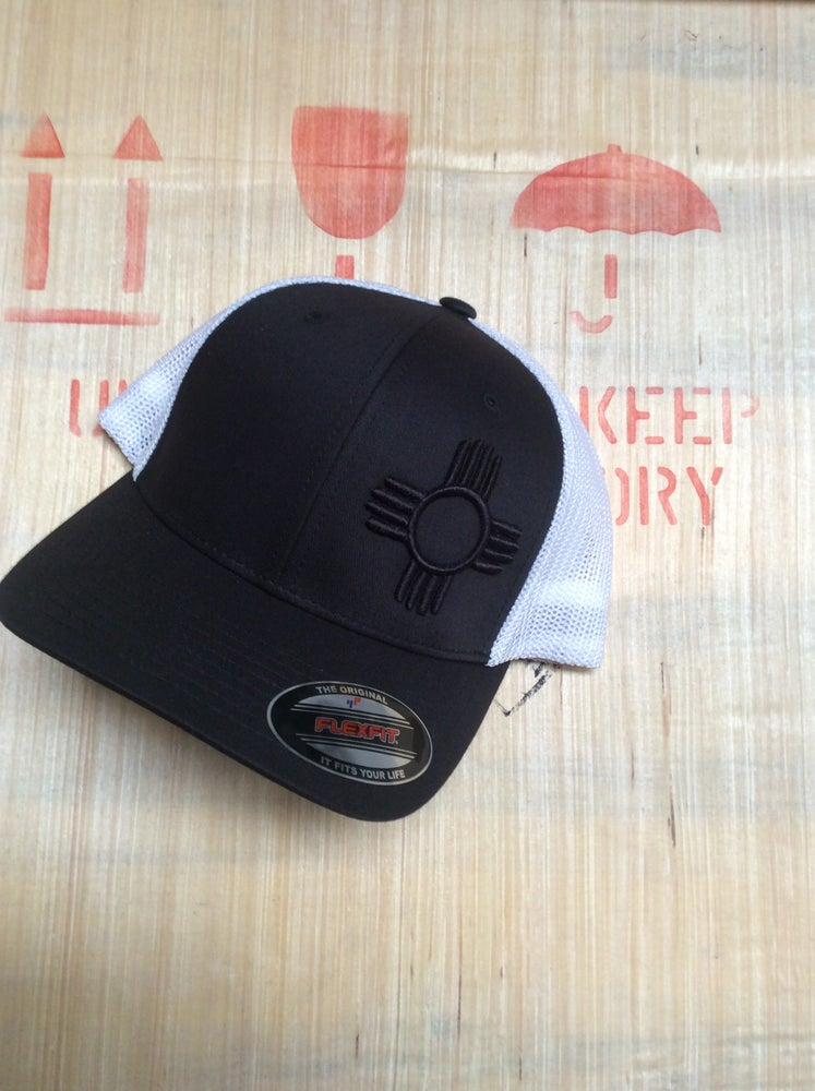 Image of NM Flexfit Trucker Mesh 3D Puff