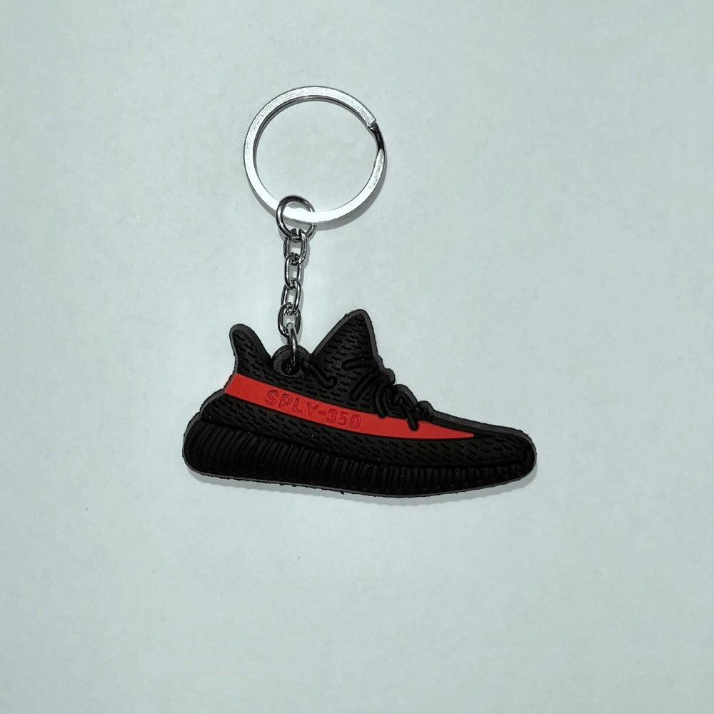 Image of YEEZY KEYCHAIN RED STRIPE f84d5acce