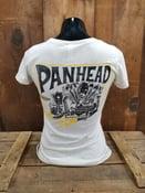 Image of Ladies Panhead Tee Shirt Oatmeal