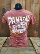 Image of Ladies Panhead Tee Shirt Rust