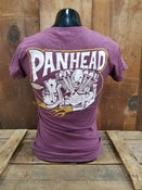 Image of Ladies Panhead Tee Shirt Maroon