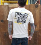 Image of Panhead T Shirt Oatmeal Triblend Track Tee Unisex