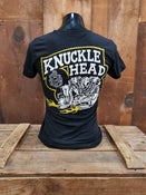 Image of Black Ladies Knucklehead Tee Shirt