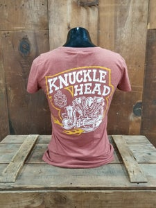 Image of Ladies Knucklehead Tee Shirt