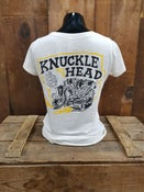 Image of Ladies Knucklehead Tee Shirt Oatmeal