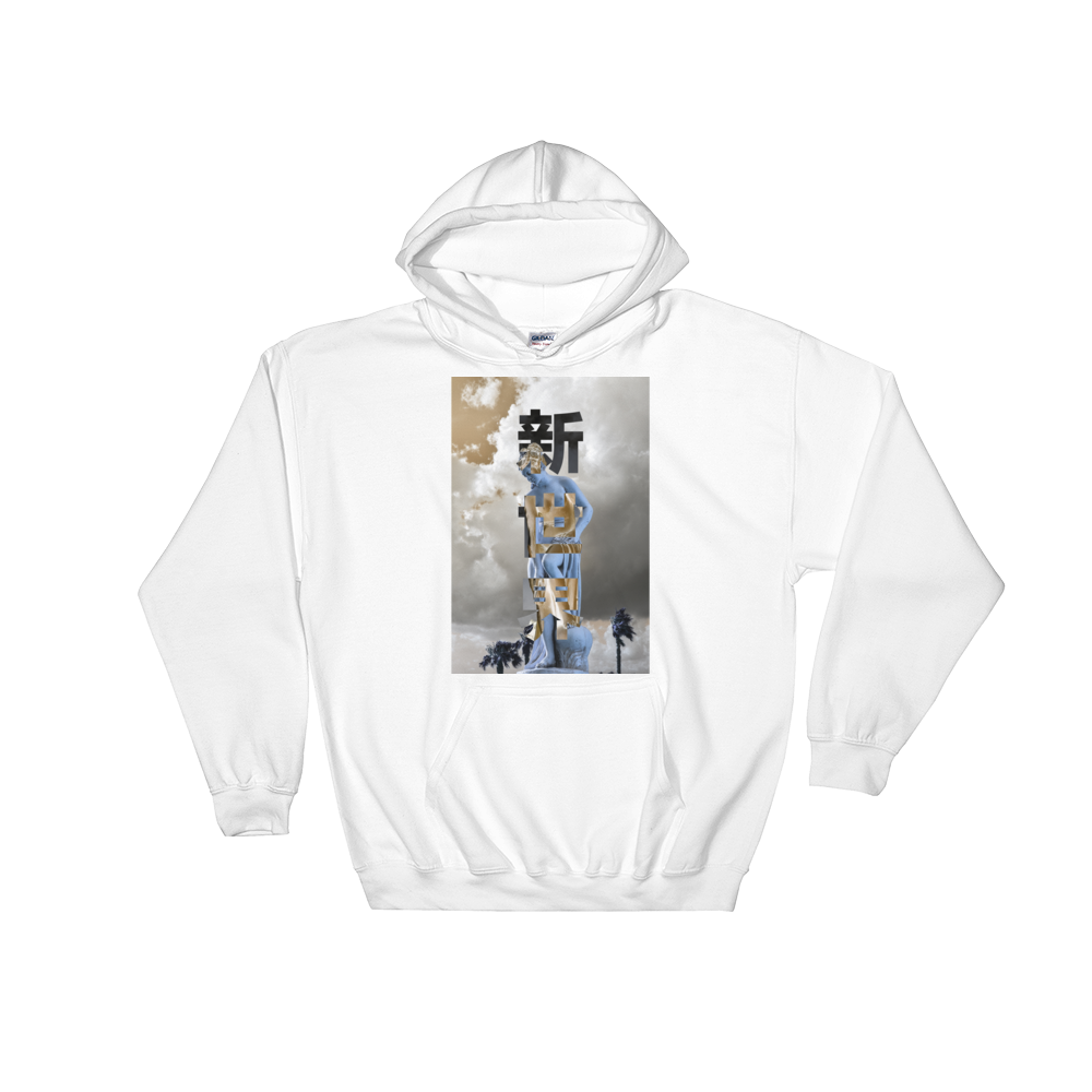 Image of Do Not Fear hoodie (WHT)