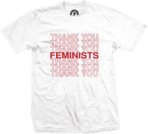 Image of 'THANK YOU FEMINISTS'