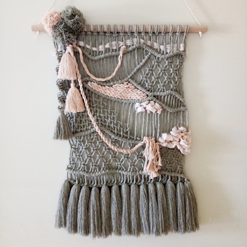 "Image of ""Charlotte"" Macrame Wall Hanging"